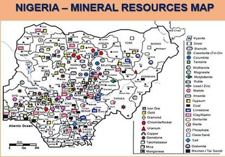 State By State List of Solid Mineral Deposit in Nigeria